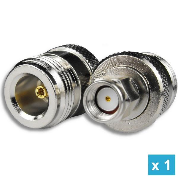 Aerial Net Rp Sma Plug To N Type Female Adapter