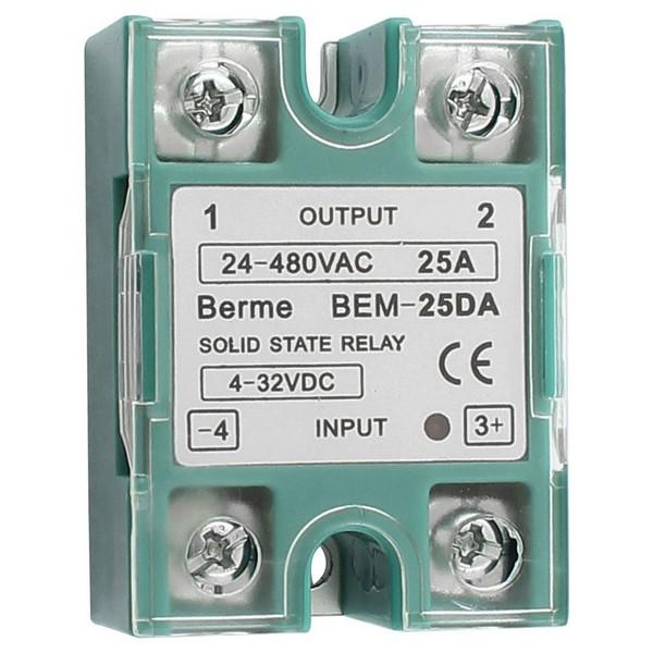 Aerial.net    BEM-25DA BERME 25A Output AC24-380V Solid State Relay 89d22556836
