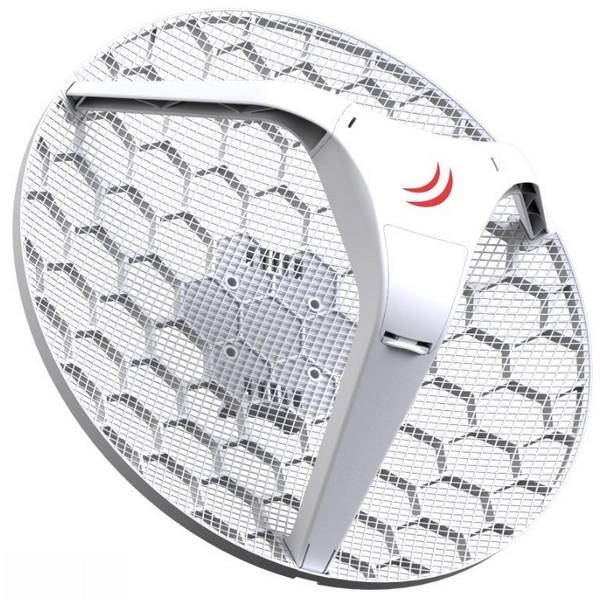 Aerial net :: MikroTik LHG HP5, 24 5dBi, 630mW 802 11a/n, ROS L3, PoE