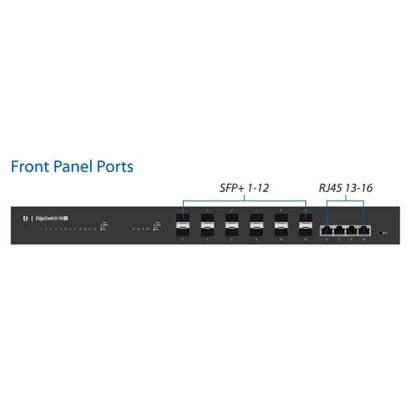 Aerial Net Ubnt Es 16 Xg Edgeswitch 16 Port 10